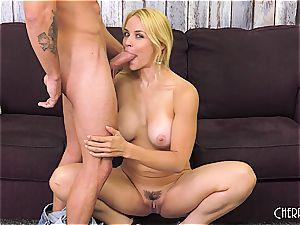 Sarah Vandella boinks on webcam and fucktoys her cunny to orgasm