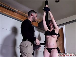 Deutsch gonzo and bdsm handballing double first-ever time Kyra Rose in Military romp Pripal s