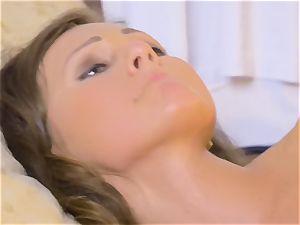 Tina Kay eager to get Kristos schlong deep in her
