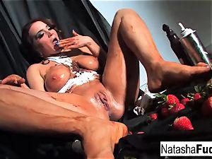 Natasha nice Gets highly sloppy
