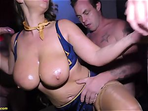 ass-fuck double penetration gang-fuck party with fabulous Susi