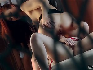 Karlie Montana and Marie McCray insatiable lezzy action