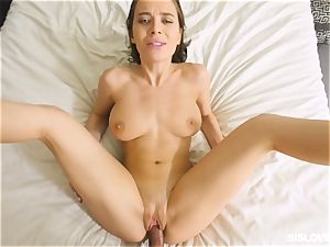 Lana Rhoades toying with her step step-brother