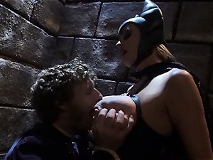 Evil queen Stormy Daniels drills the spectacular prince