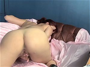 sensual Jayden Cole likes taunting her sweet raw jewel