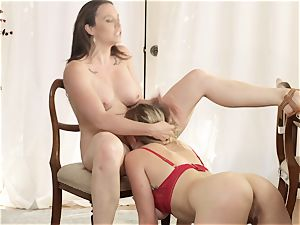 Chanel Preston and Giselle Palmer delicious sapphic act