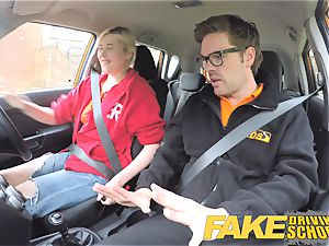 faux Driving college Back seat coochie dumping