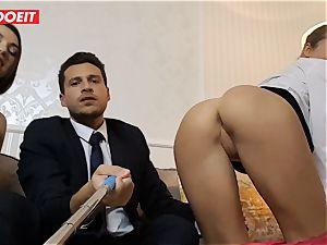 LETSDOEIT - wild wife Gets banged hardcore By Swingers