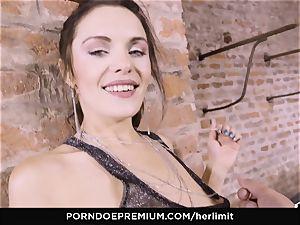 HER confine - hottie bj's in harsh buttfuck drill festival