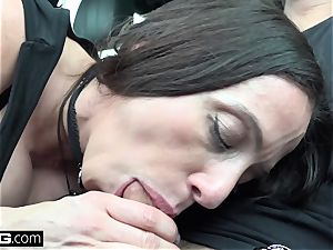 smash Real milfs Ariella Ferrera shows and nails