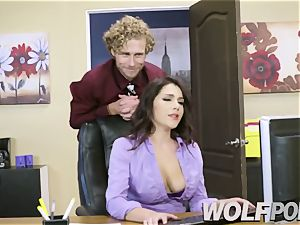 kinky secretary Give a suck job to your manager
