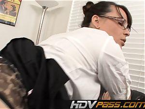 super hot professor Dana Dearmond pounded By Coworker