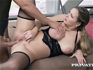 Privatecom - curvaceous Candy Alexa gets her booty plumbed rock-hard
