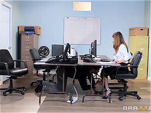 filthy office honey Dillion Harper gets shafted at work