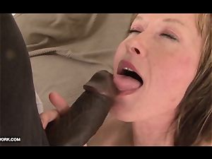grannie luvs to get her cooch pounded by ebony hard-on