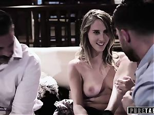 pure TABOO honey Tricked Into revenge 3 way with Strangers