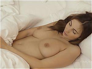 Connie's morning orgasm