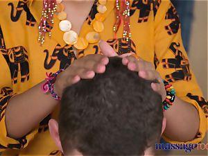 massage apartments steaming Thai massagist takes hard weenie