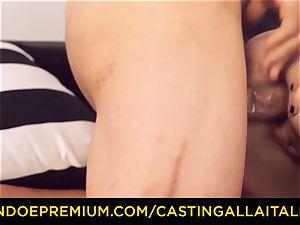CASTNG ALLA ITALIANA - light-haired vixen tough double penetration romp