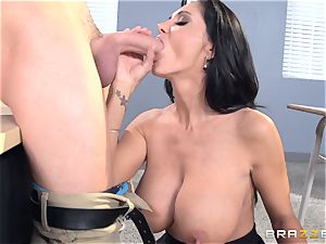 buxom educator Ava Addams is humped by her schoolgirl