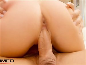 plunged pawg Alexis Monroe double penetration 3 way