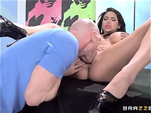 Art model Missy Martinez in dream schoolgirl ravage