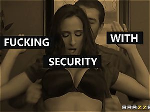 Ashley Adams gets humped by two cops