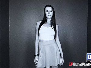 naughty mega-bitch teenage Lacey at Dr. Phill gets a solid man-meat treatment and drizzle therapy