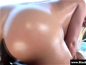 pornographic star Krissy Lynn bootie poked rock hard and she yells