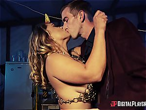 Danny D uses his manmeat to bait a succubus